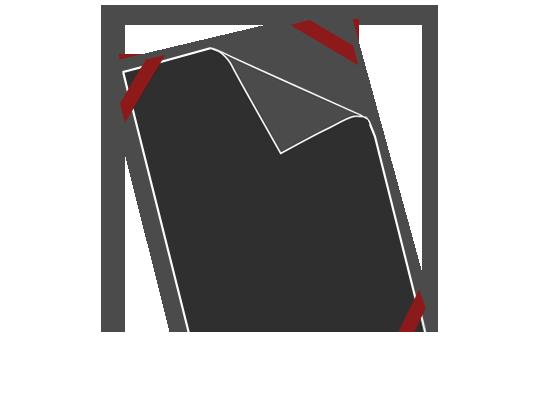 Steck-System mit Seidenband