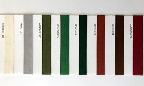 Ausstattung Seidenbänder Farben